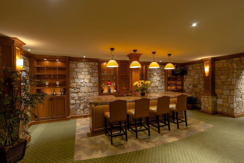 Recent Princeton NJ Basement Renovation Custom Interior Design
